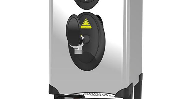 hot water boiler.