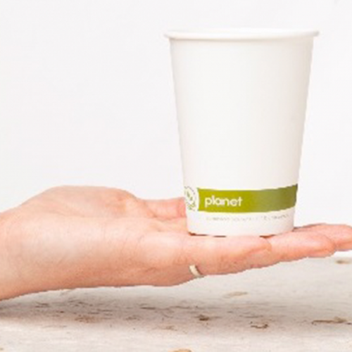 PLA Paper Compostable Cup's.